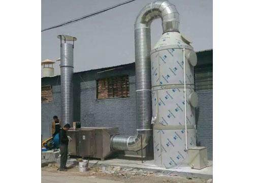 水喷淋加光氧净化器
