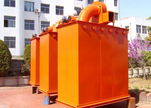 UF单机除尘器是内滤式机械振动除尘器